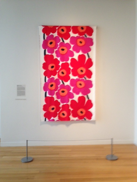This poppy painting really POPS!
