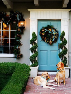 front-entry-door-christmas-decorations-ideas