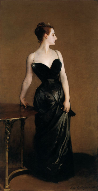Portrait of Madame X by John Singer Sargent